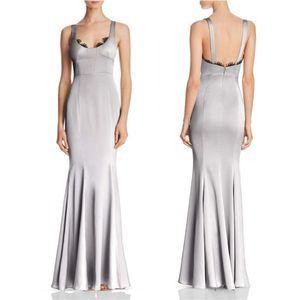 Fame And Partners - NWT Ara Satin Lace Trim Dress